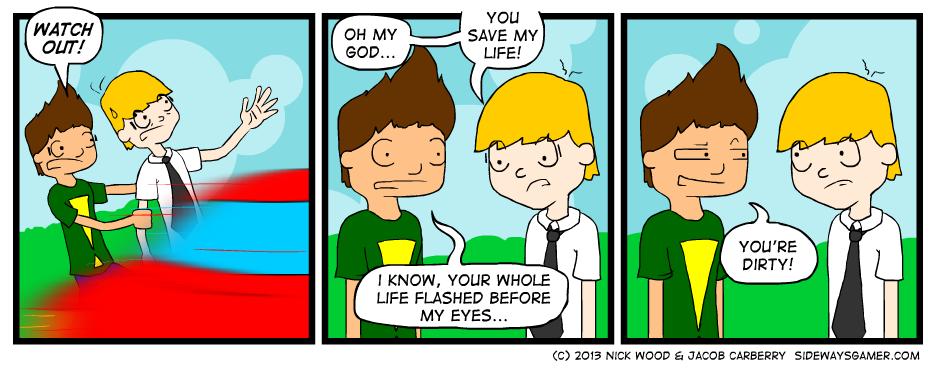Near-near-death Experience