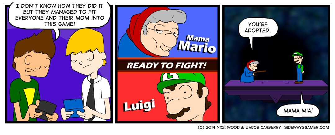 Super Smash Mothers